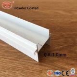 Suministro de la fábrica de perfiles de aluminio tapizado Listello edificio para la decoración