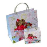OEM напечатано Рождеством подарок бумажные мешки для продвижения по службе (YH-PGB059)