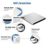 Mac 또는 Laptop/PC (로즈 금)에서 USB3.0 외부 DVD CD 드라이브 선수