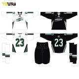Sublimación personalizada OEM del equipo de Hockey baratos camisetas