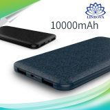 Materiales ignífugos cargador de viaje 5000mAh 10000mAh Super Silm alimentación portátil