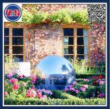 """6 """" Zoll-Edelstahl-Höhlung-Kugel/Bereich für im Freien, Garten-Dekoration"""
