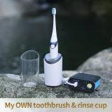 Sonic Cepillo de dientes eléctrico recargable resistente al agua IPX7 y temporizador de 2 min
