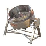 Venda a quente com camisa de entreabrir chaleira fogão eléctrico de molho de processamento