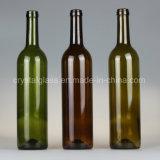 Classic vert foncé 750ml Flacons en verre de vin rouge de l'emballage