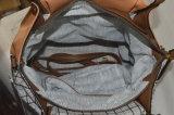 형식 격자 무늬 PU 가죽 가방 숙녀 여자 핸드백
