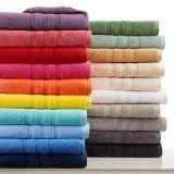 파란 색깔은 압축했다 순수한 면 색깔에 의하여 인쇄된 수건 (JRD326)를