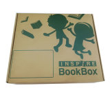 Impresión de papel corrugado ecológica personalizado con Logo para el embalaje