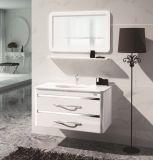 Pintado de PVC de pared simple de los armarios de lavabo