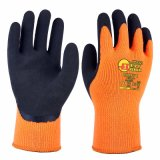 Super Greep! 10g de acryl Sandy Latex Coating Safety Handschoenen van Terry