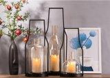 Un style simple de l'ouragan lampe chandeliers de métal