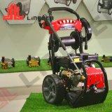 10 l/min benzinemotor Elektrische hogedrukwaterstraalwagen Wasmachine voor reinigingsvloeistof