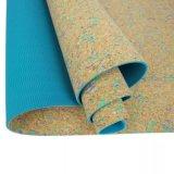 Hochwertige Fitness Natur Gedruckt Holz Jute Design Kork Yoga Mat