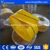 Mangueira de descarga de Layflat de PVC de alta pressão de alta resistência