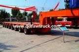 60-70 Tonnen 3 Radachsen-niedrige Bett-Schlussteil-