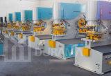 Hydraulische Ijzerbewerker, Scherpe Machine, de Machine van de Staalfabriek, de Machine van het Ponsen, de Universele Scherende Machine van het Ponsen