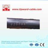 В соответствии с 10кв XLPE низкое напряжение короткого замыкания электрического кабеля питания