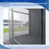 Malla de alambre de acero inoxidable para paneles de pared