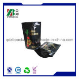 Stand up Ziplock bolsas de embalaje para el té negro de embalaje