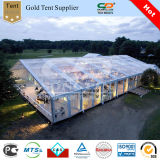 Hochzeits-Kabinendach-Zelt 12X15m mit freiem Dach und Wand (PF12)