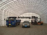 큰 직류 전기를 통한 묶인 강철 관 프레임 PVC 직물 창고 (TSU-4966)