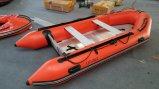 Canto12.4FT 3,8 m de barco a remos barco inflável Sport Barco com piso de alumínio ou madeira contraplacada ou deck de ar com marcação Cert.