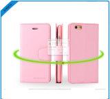 Аргументы за iPhone8 бумажника кожи дневника сонаты Goospery высокого качества