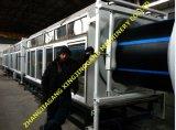 Chaîne de production de pipe de HDPE extrudeuse de pipe/pipe effectuant centrale le HDPE siffler effectuer la machine d'extrusion de machine/pipe