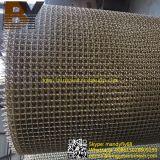 Rete metallica unita dell'acciaio inossidabile d'ottone o