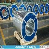 0.12mm-3mm PPGI Dx51d plongé chaud Z100 ont galvanisé la bobine en acier pour le toit