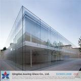 6+9A+6mm temperada/claro plano temperado vidro isolante para construir