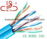 Câble d'acoustique de connecteur de câble de transmission de câble de caractéristiques de câble de câble/ordinateur de réseau d'UTP