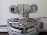 レーザーのカメラ、パトカーの屋根の高速鍋の傾きのカメラ