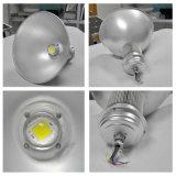 Luz elevada industrial clara do louro do diodo emissor de luz para a iluminação da fábrica do armazém