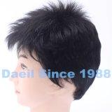 Los productos de pelo sintetizados del 100% ponen en cortocircuito la peluca humana