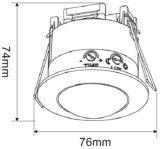 Detector van de Motie van de Waaier van de Opsporing van 360 Graad van het alarm de Mini Infrarode