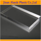 Feuille 100mm acrylique transparente personnalisée d'aquarium de plexiglass de 50mm