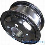 Черный цвет стальной обод колеса погрузчика с 7.00-16 шин (модель 5.50F-16)