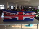 2018 het Product van de Bevordering van de Kop van de Wereld van Rusland, het Opblaasbare Bed van de Bank van de Lucht van de Hangmat van het Strand van de Hangmat met het Nationale Patroon van de Vlag