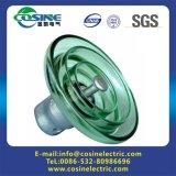 Isolanti di vetro del disco/isolanti di sospensione della protezione e del tipo di Pin