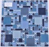 Mosaico di vetro delle mattonelle poco costose calde di vendita per il raggruppamento