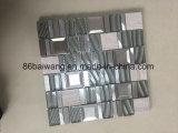Естественная Polished мраморный мозаика кристаллический стекла для нутряной конструкции пола