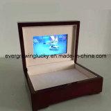 Cadre de empaquetage de cadeau fait sur commande avec le vidéo d'affichage à cristaux liquides