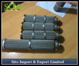 Filtro de engranzamento tecido filtro do fio do cartucho do engranzamento de fio do aço inoxidável