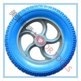 3.25-8 Blauer PU-Schaumgummi-Fahrrad-Gummireifen mit pp.-Felge