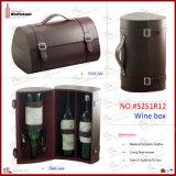 Doos van de Wijn van de Fles van het Kunstleer van Elegent de Multi (5251R12)