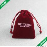 Samtdrawstring-Geschenk-Beutel, Samt bauscht sich en gros