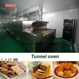 Horno de túnel de Guangzhou Bossda para el equipo de la hornada