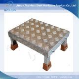 Placa a cuadros de aluminio para placa antideslizante