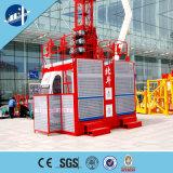 Élévateur électrique de treuil de construction pour le matériau et l'être humain de levage